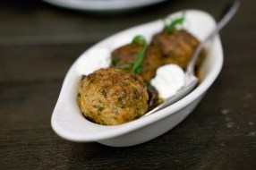 Rabbit Meatballs, Black Olives, Ricotta - Marta