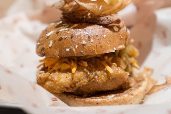 Hot Honey Chicken - Bareburger