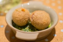 rabbit & wagon wheel croquettes - state bird provisions