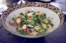 Zucchini and Calamari FRITTO MISTO - del posto