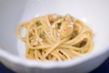 SPAGHETTI with Dungeness Crab - del posto