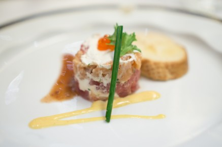 steak tartare - Westerdam Cruise