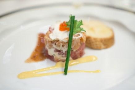 steak tartare - Westerdam Cruise