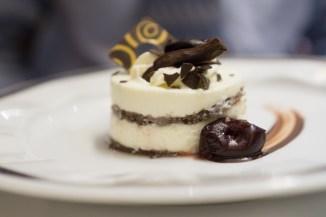Chocolate and Vanilla Dessert - Westerdam Cruise