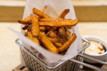fried sweet potatoes - jun-men ramen