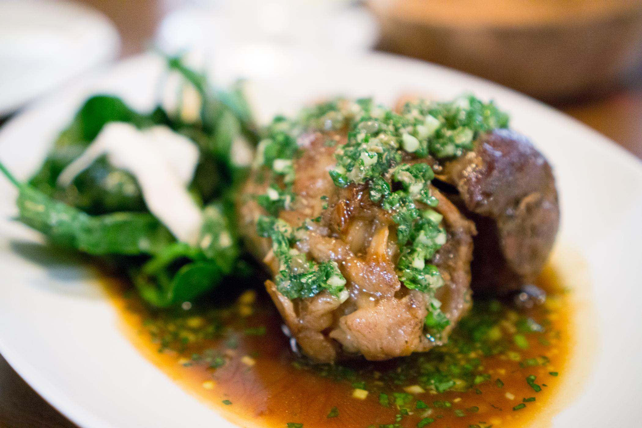 Braised Lamb Shank - Union Square Cafe