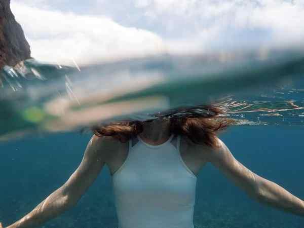 Na Pali Coast Snorkel Tour Kauai-6509 Man