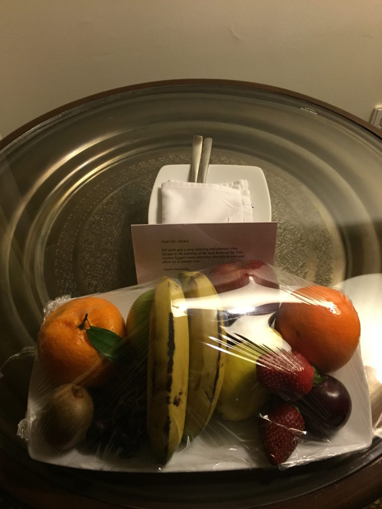 Hilton Luxor Fruit Basket