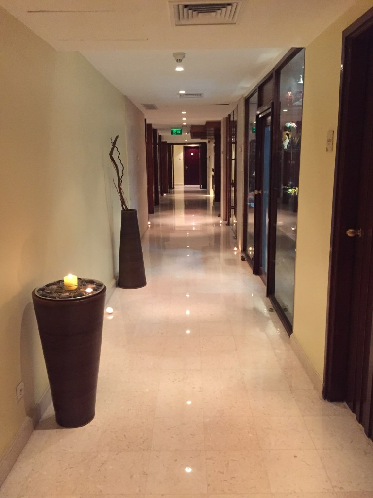 Luxor Spa Entrance