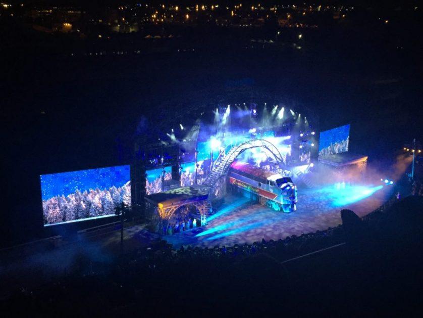 Calgary Stampede nighttime show