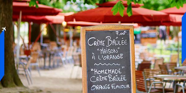Paris Restaurant, courtesy of airfrance.com