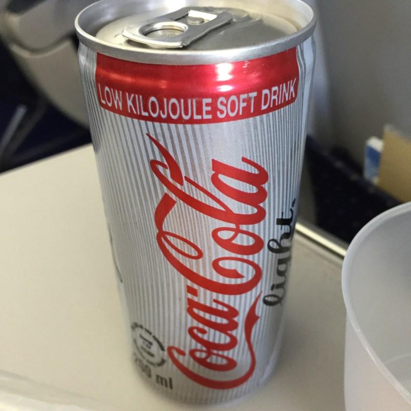 Low KJ Coke