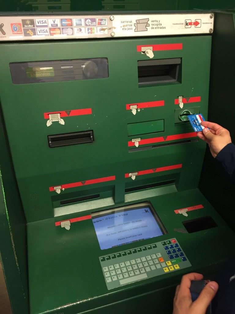 Old School ATM, Bilbao