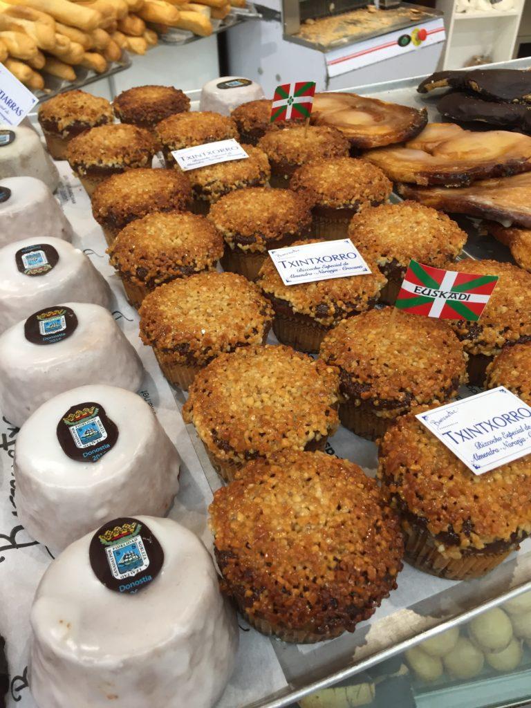 Local basque desserts