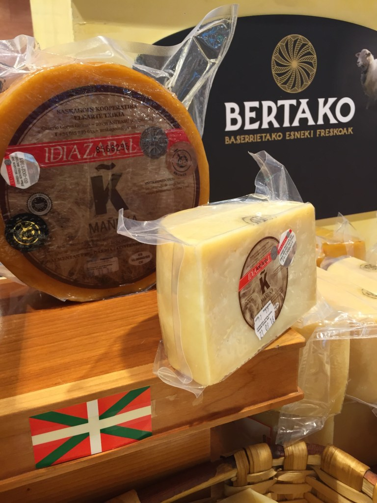 Local Basque Cheeses