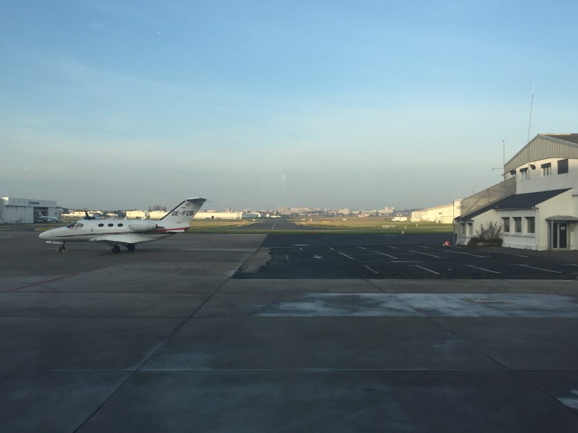 Private Jet, Paris Airport-Le Bourget