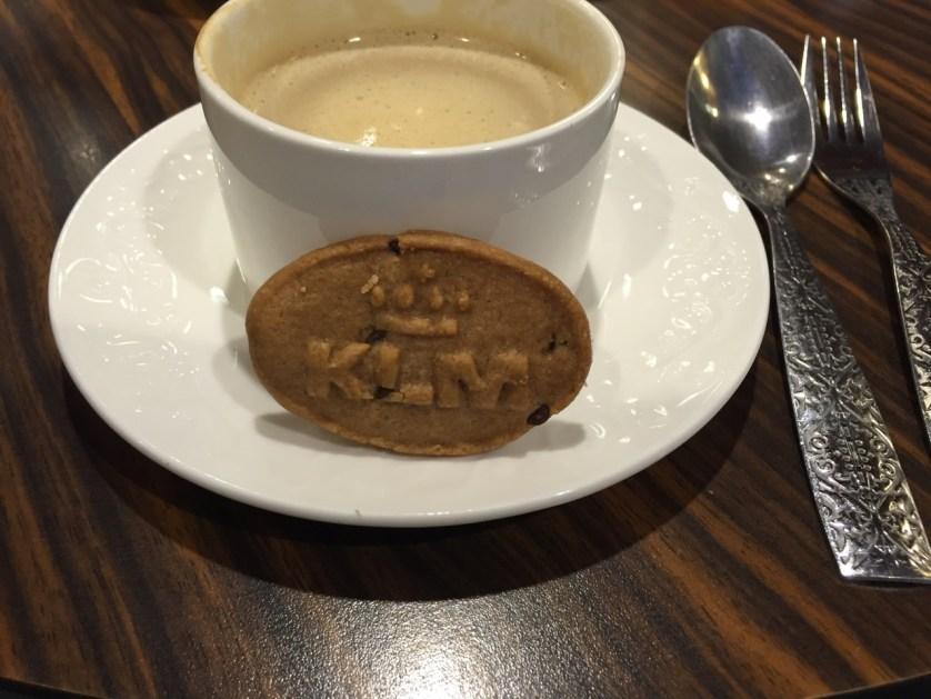 KLM cookies Lounge in AMS