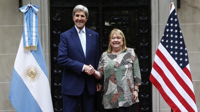 Sec. Kerry & Min. Susana Malcorra
