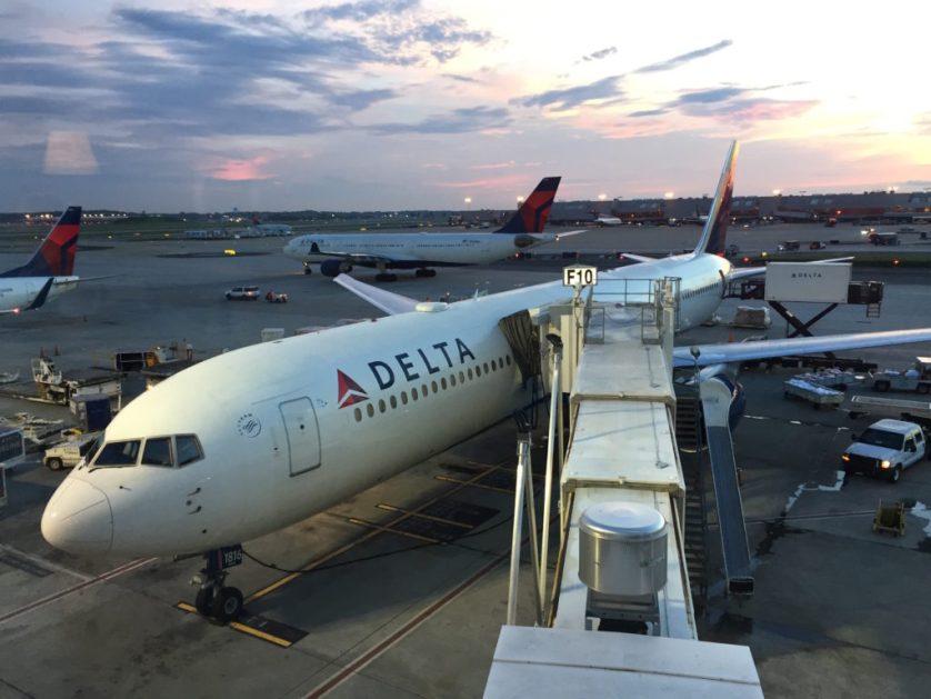 Delta Plane in Atlanta