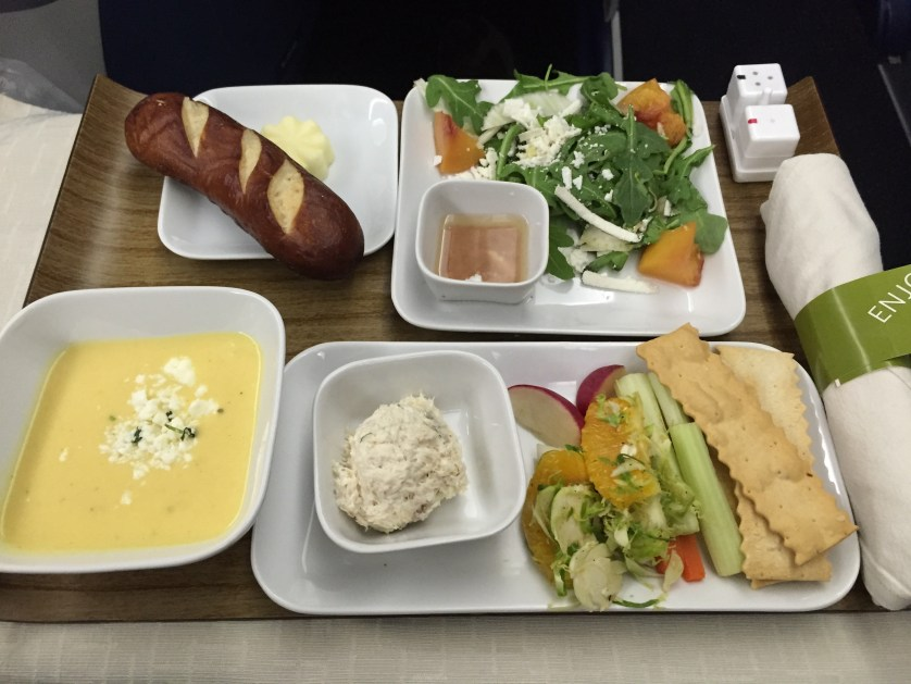 Delta One Salads/Veggies/Soup