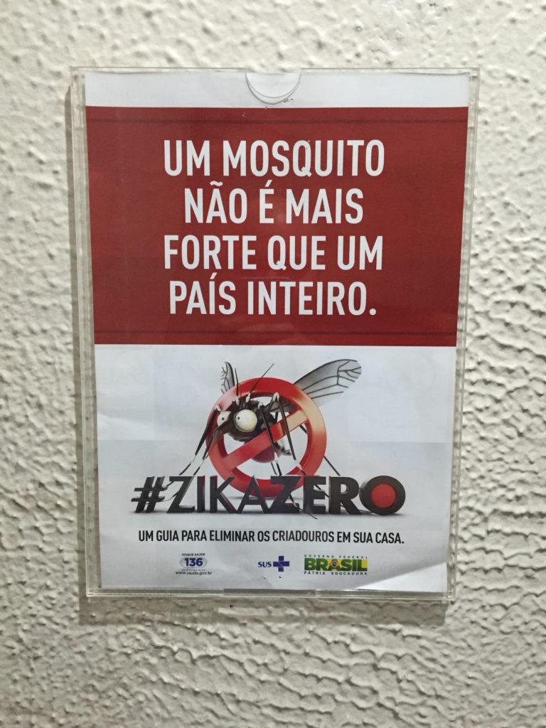 Zika reminders everywhere