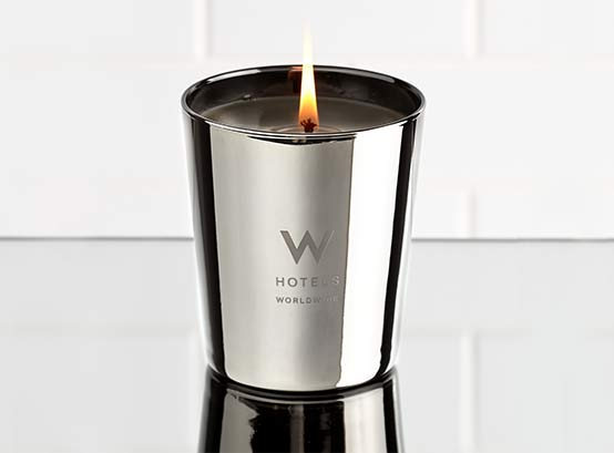 You can also get a W Hotel Candle if you'd like! From whotelsthestore.com