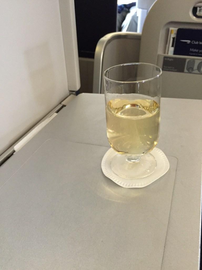British 747 Champagne