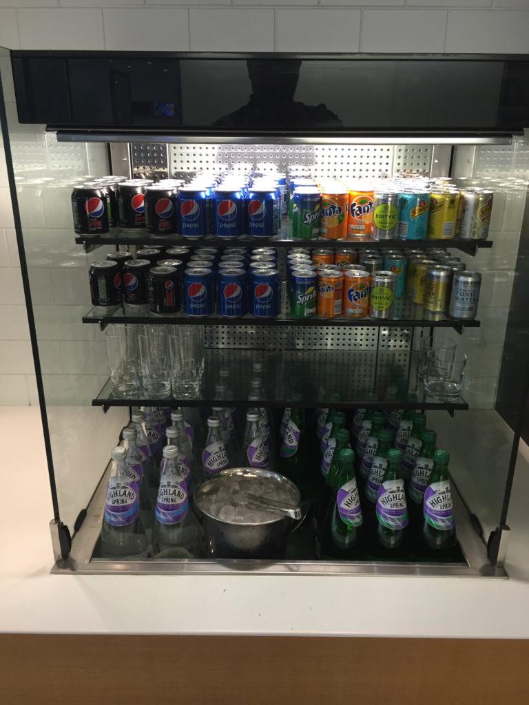 British Lounge Cold Beverages
