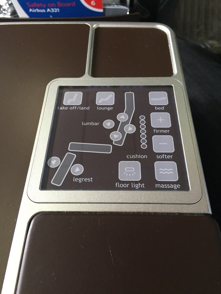 A321 British BMI Seat Support