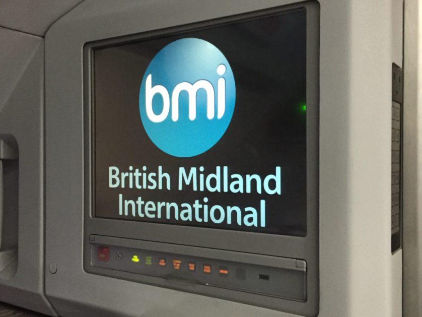 A321 British BMI Display