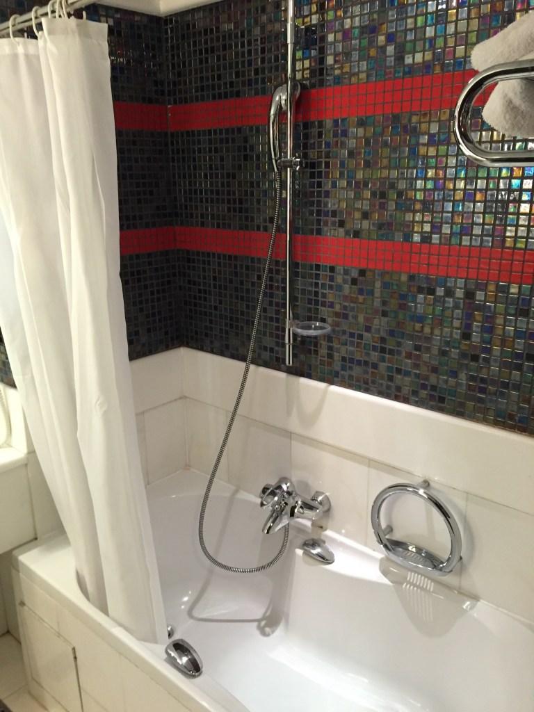 Odd Shower...