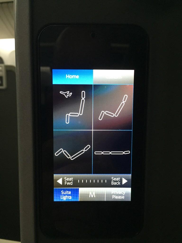 AA 777 Seat Controls