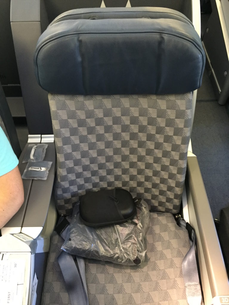 Old seat, my gosh