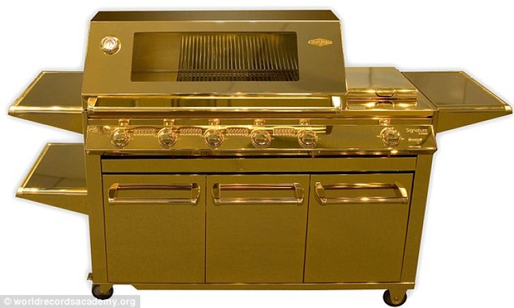 Gold Grill, from DailyMail.co.uk