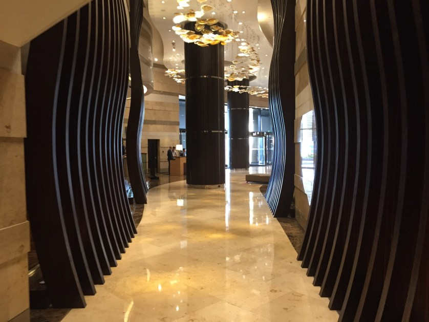 Hyatt City of Dreams Manila Lobby