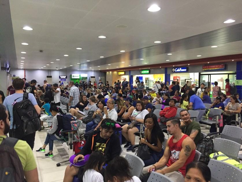 Manila's Domestic Waiting Area