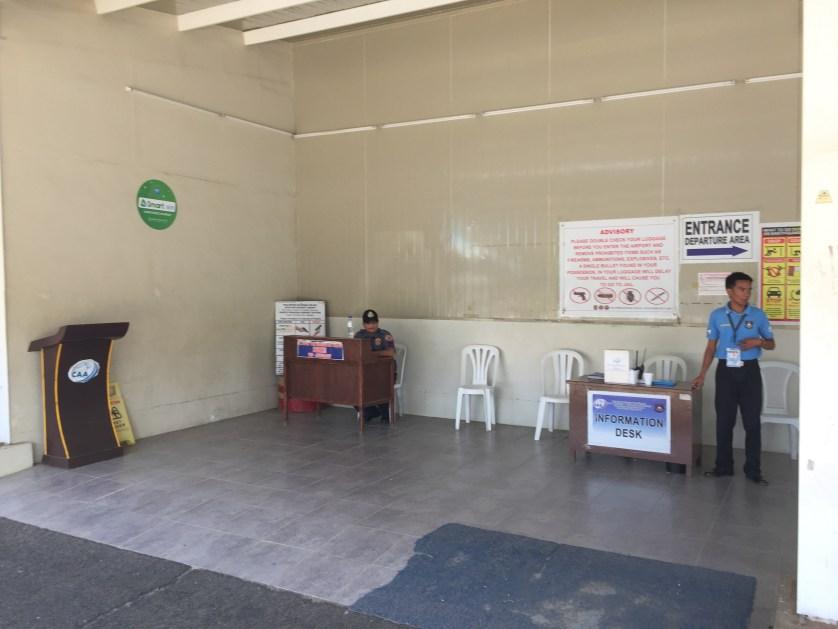 Puerto Princesa Airport Security Area