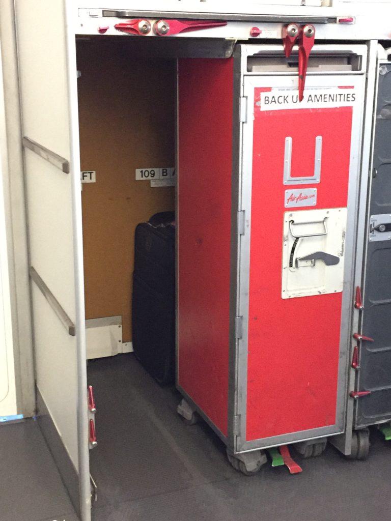 Air Asia Extra Baggage Storage
