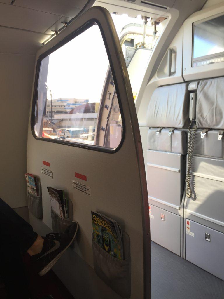 Air Asia One Way Mirror