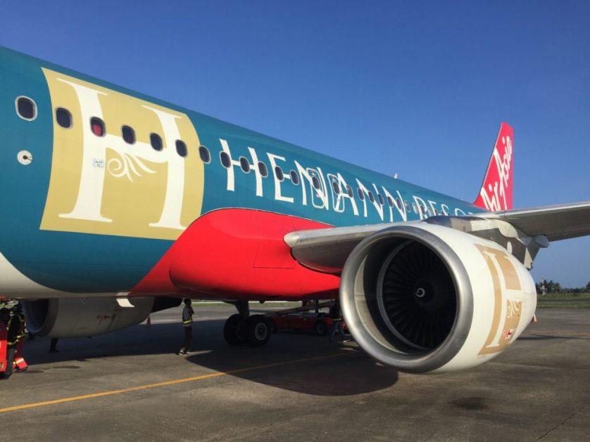 Air Asia Henann Resorts Plane