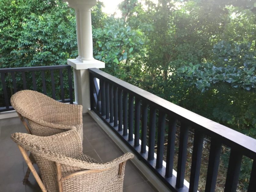 Fairways and Bluewater Family Suite Balcony