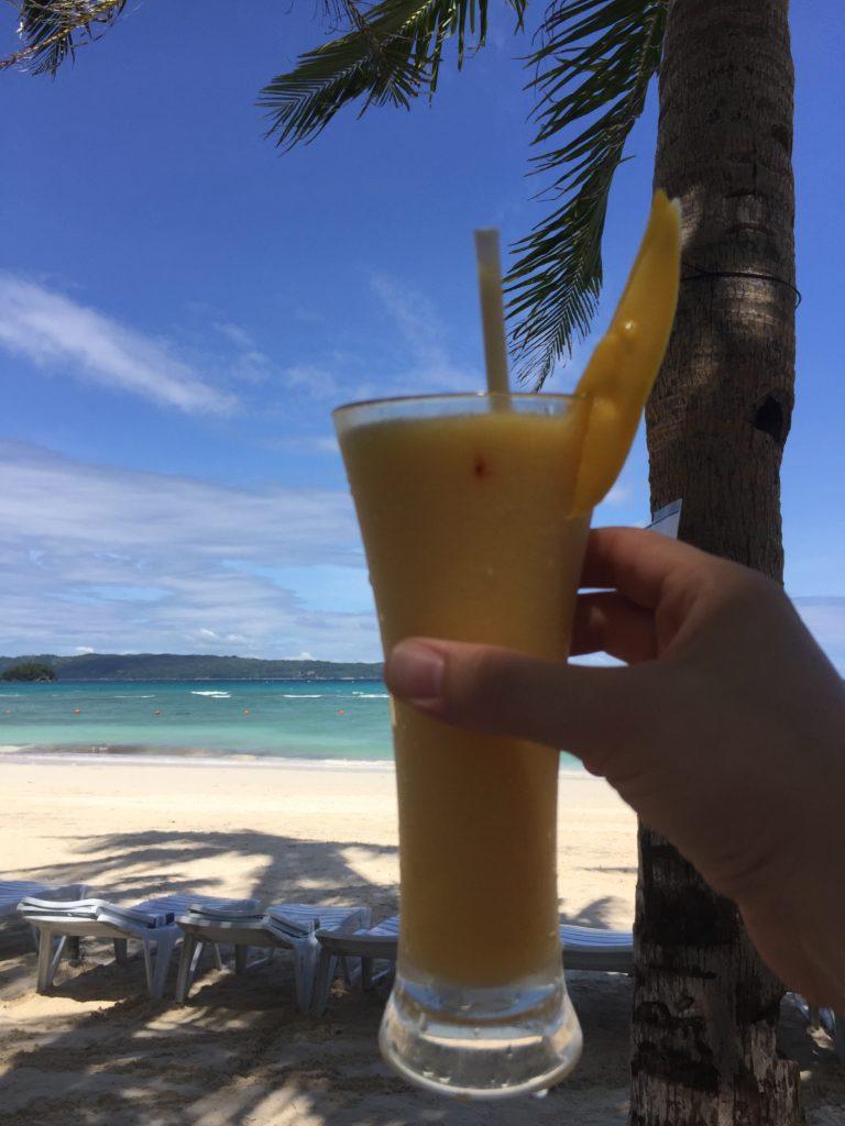 Fairways and Bluewaters Private Beach Mango Shake