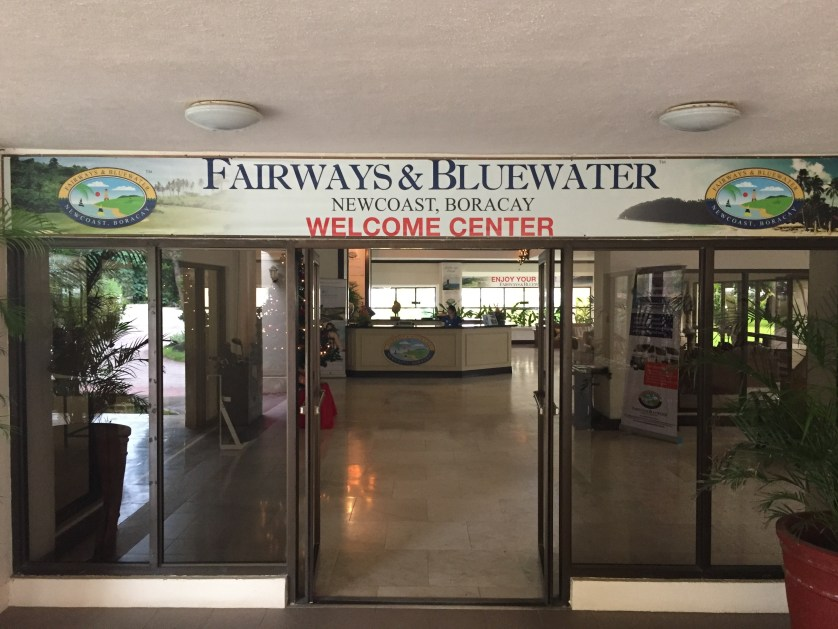 Fairways Welcome Center