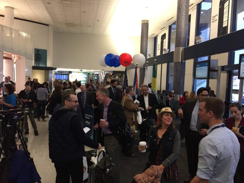 Alaska Airlines Havana Gate Area Boarding