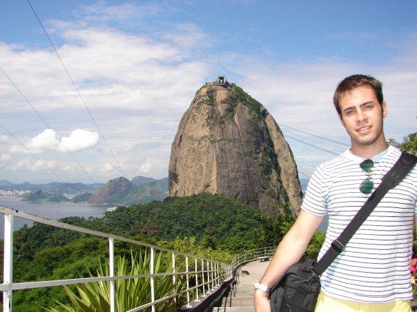 Rio de Janeiro, first international solo trip