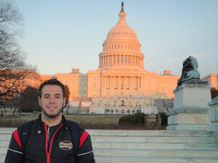 US Capitol, first US solo trip