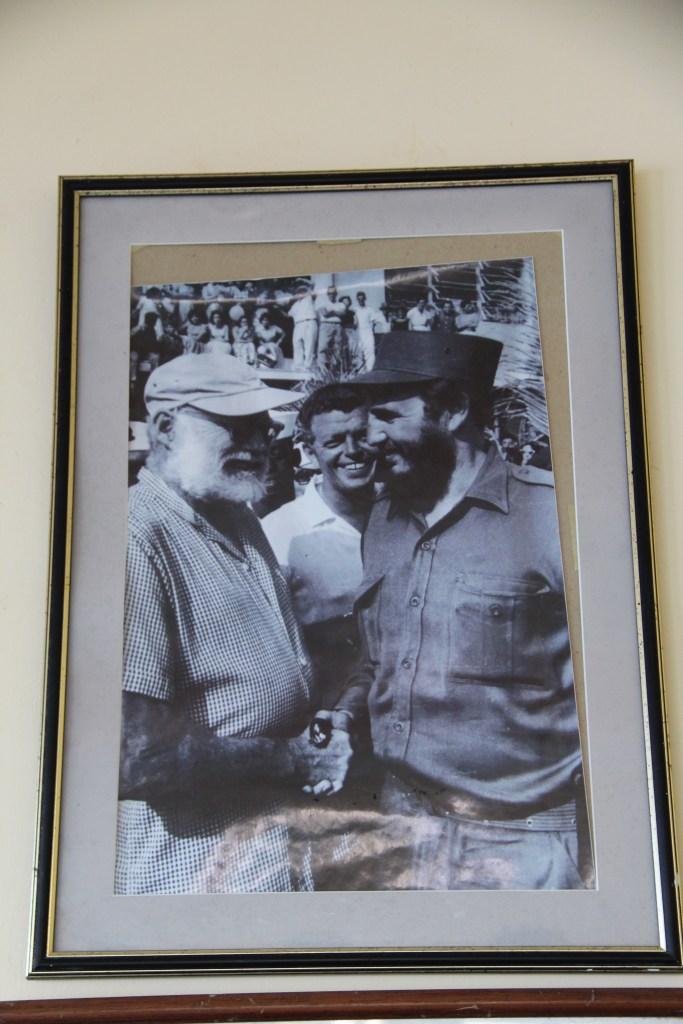 Ernest Hemingway Fidel Photo
