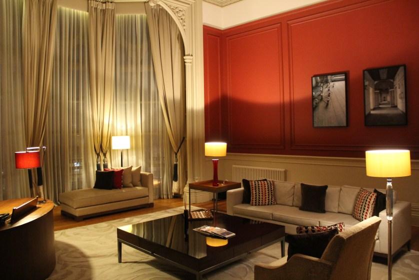 Haywood Suite Living Room