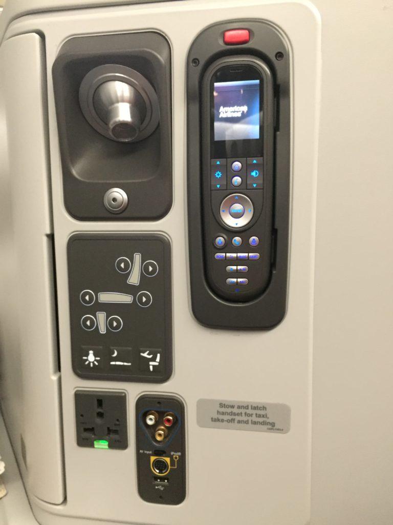 AA 777-300 Business Class Seat