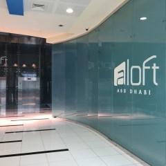 The World's Largest Aloft Hotel, Abu Dhabi